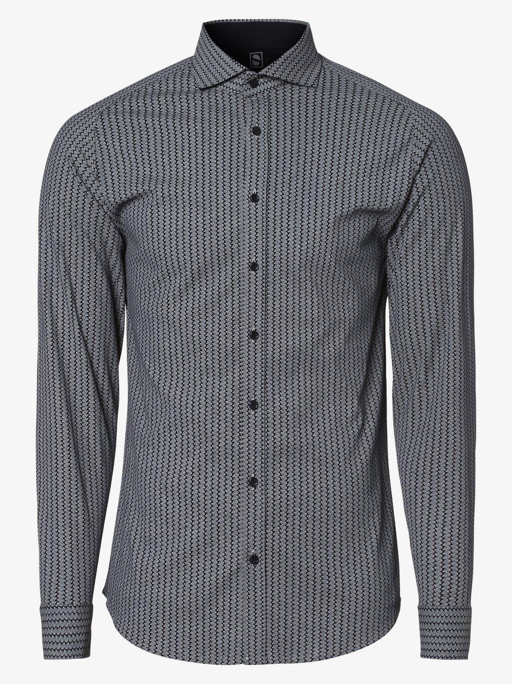 DESOTO – Koszula męska, niebieski Van Graaf 483879-0002-09920
