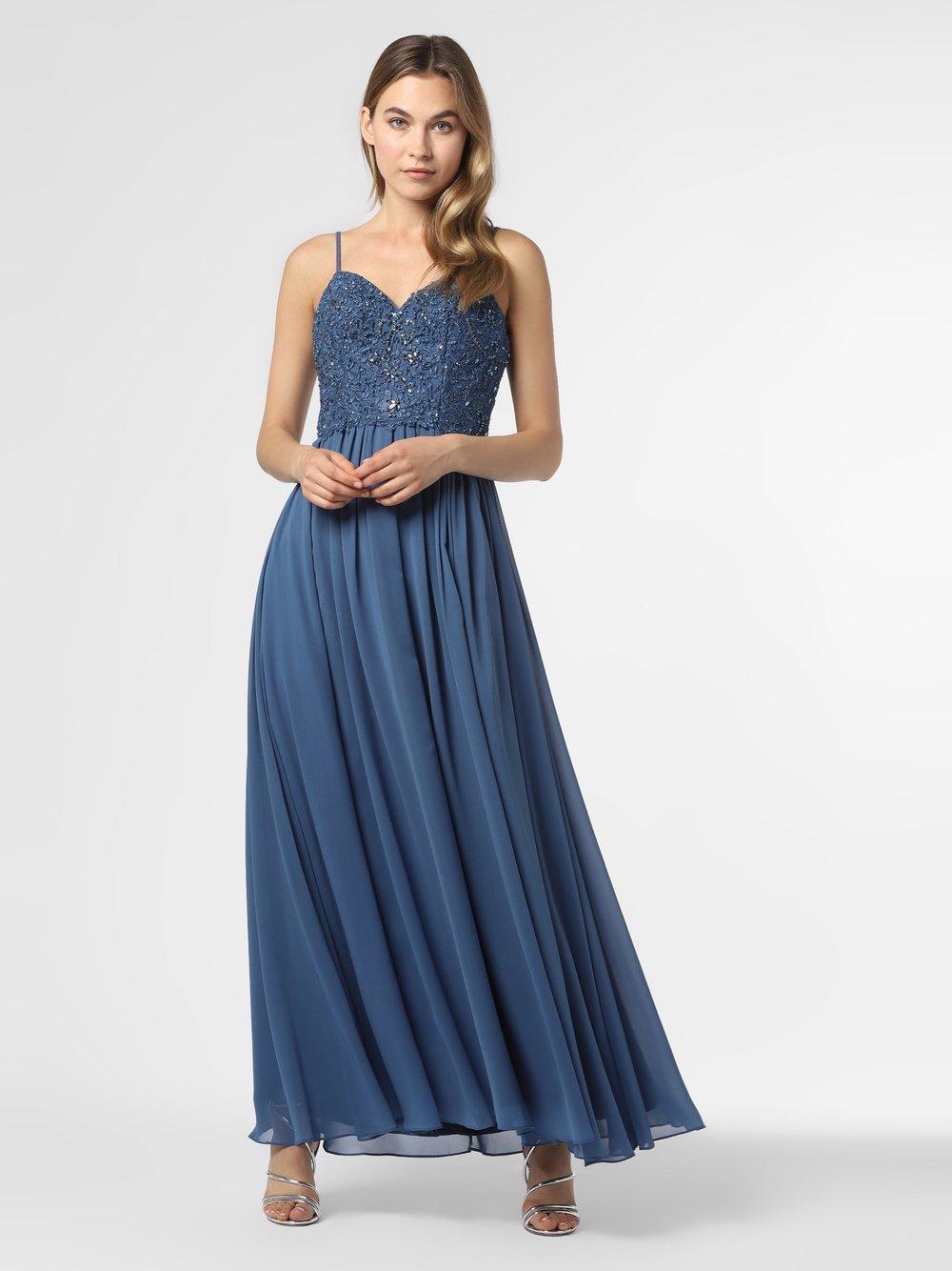 Laona – Damska sukienka wieczorowa, niebieski Van Graaf 484026-0001-00400