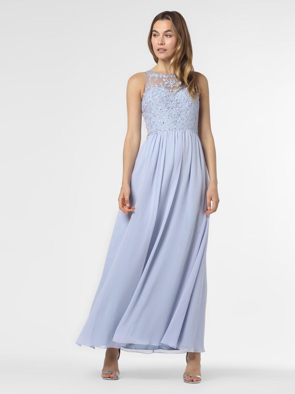 Laona – Damska sukienka wieczorowa, niebieski Van Graaf 484034-0002-00360