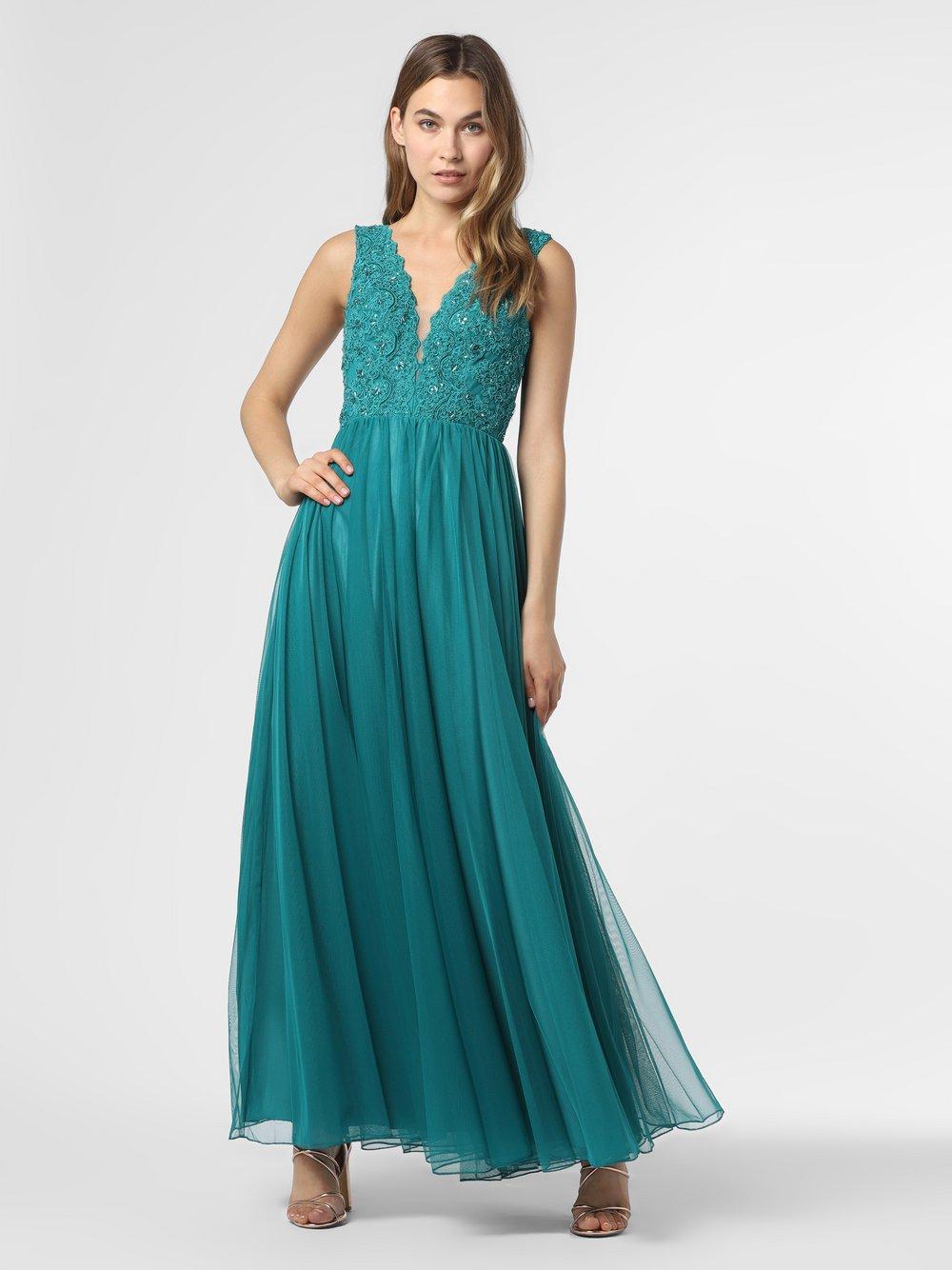 Laona – Damska sukienka wieczorowa, niebieski Van Graaf 484050-0001-00440