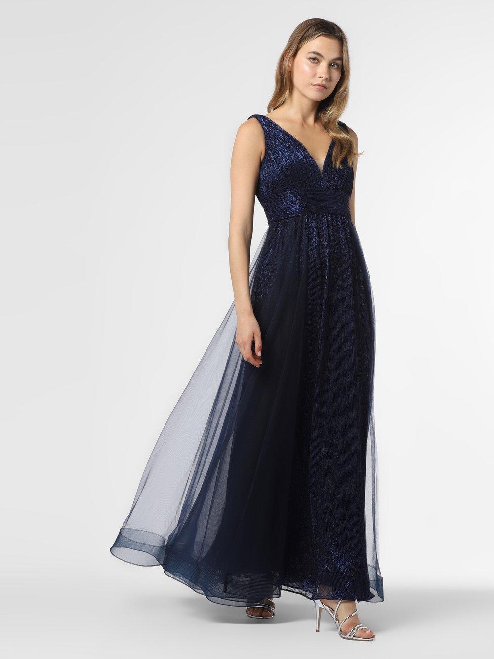 Laona – Damska sukienka wieczorowa, niebieski Van Graaf 484054-0001-00360