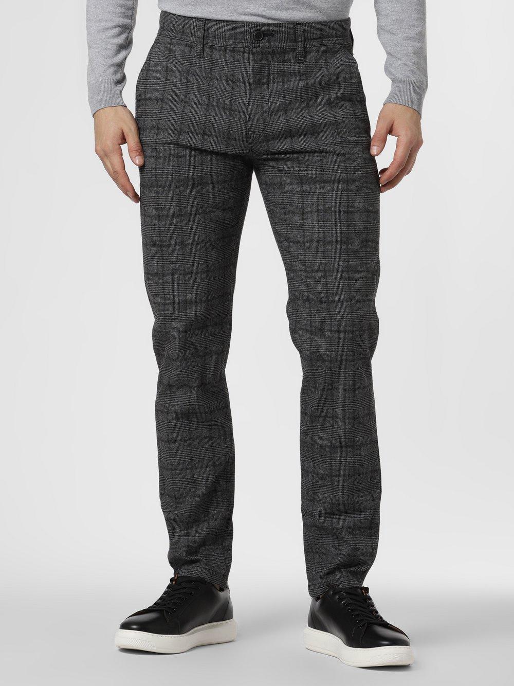 BOSS Casual - Spodnie męskie – Schino-Taber B, czarny