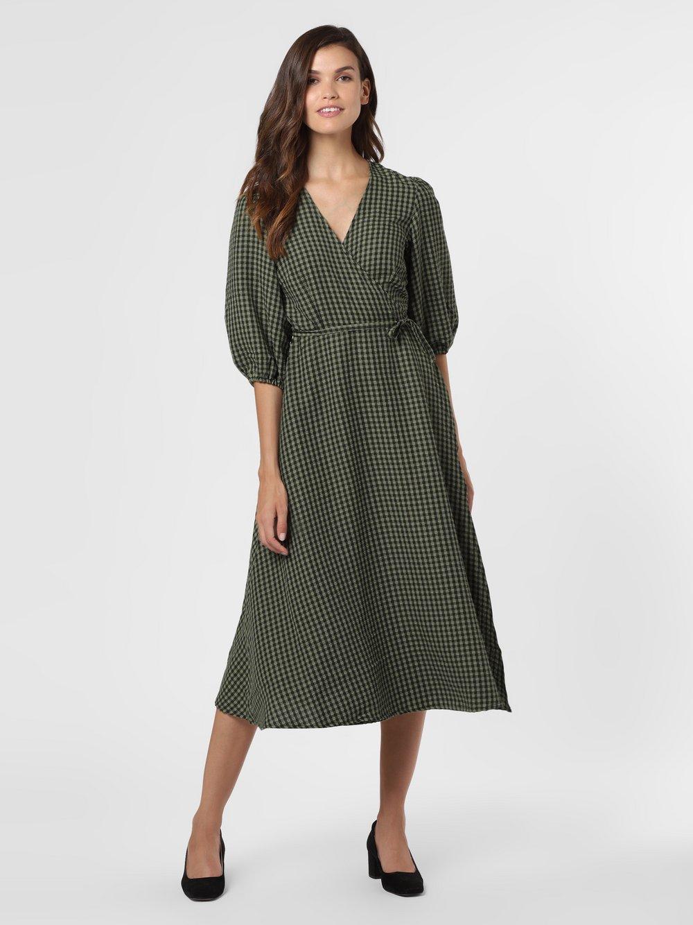 Minimum – Sukienka damska – Elmina, zielony Van Graaf 484375-0001