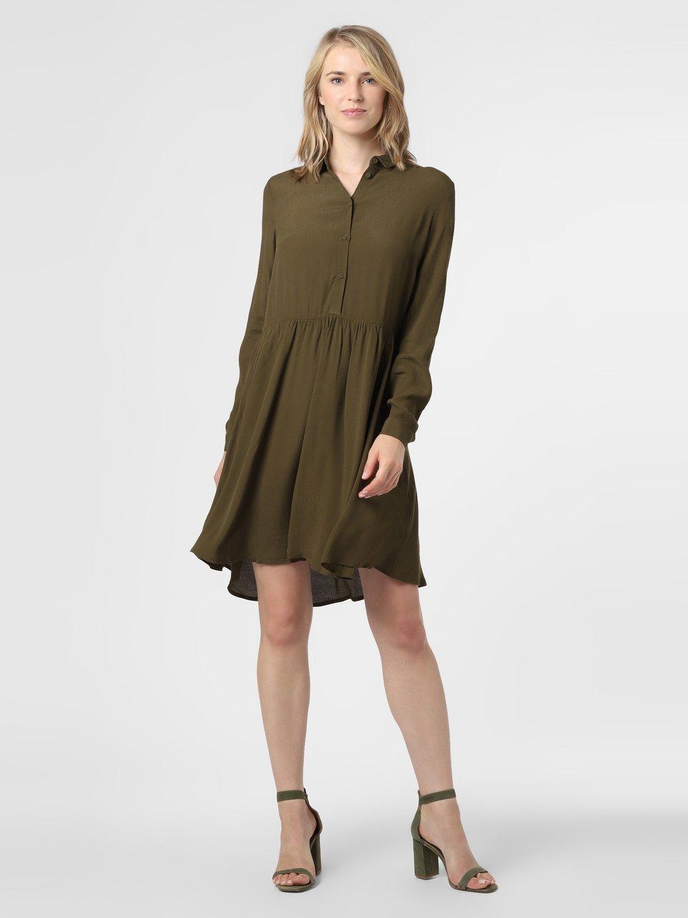 Minimum – Sukienka damska – Bindie, zielony Van Graaf 484376-0001-00340