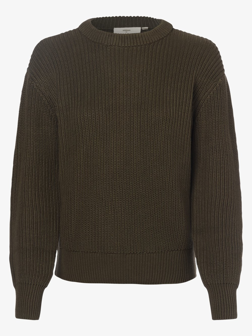 Minimum – Sweter damski – Mikala, zielony Van Graaf 484382-0001-09940