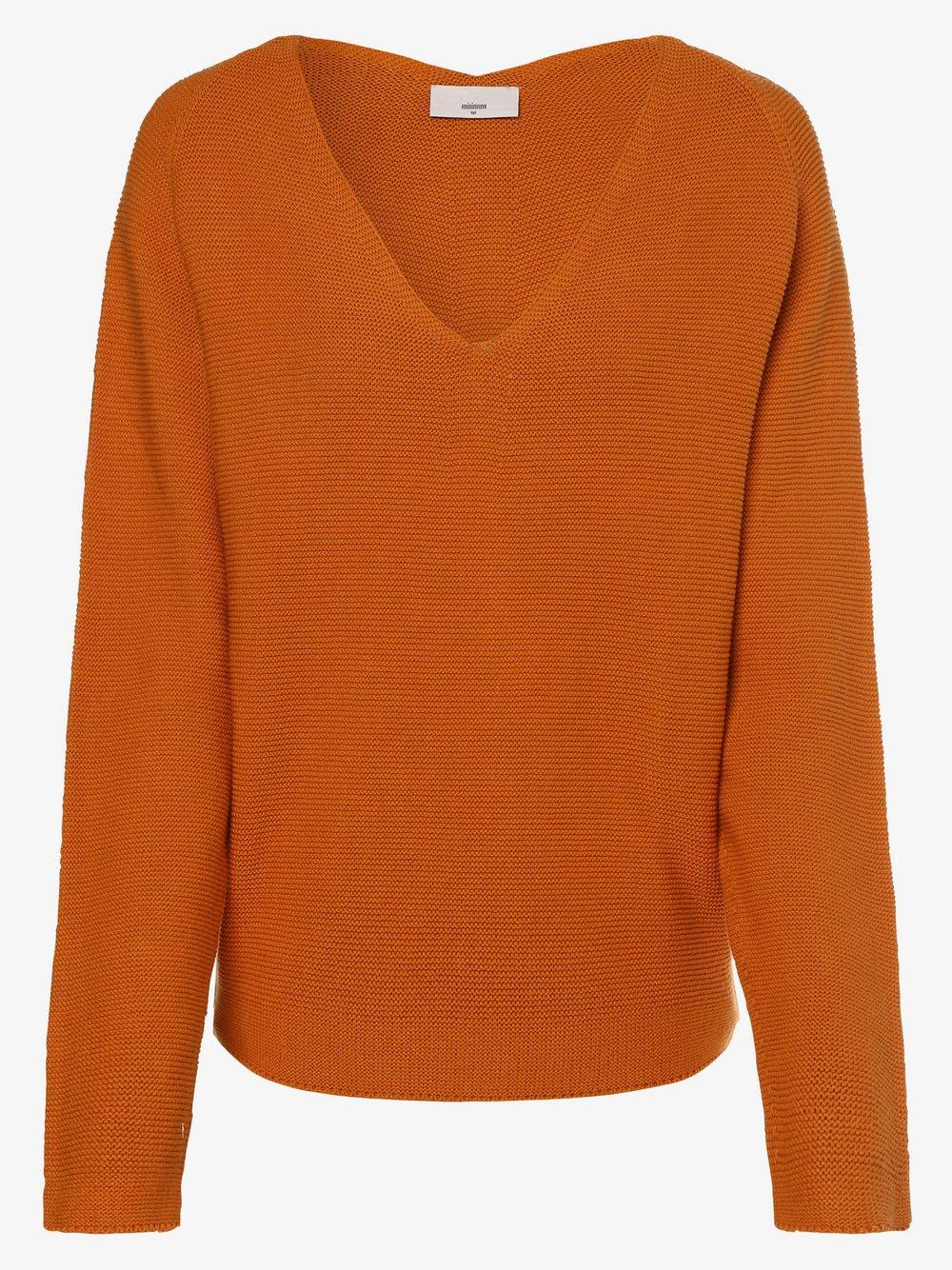 Minimum – Sweter damski – Stinea, żółty Van Graaf 484384-0001-09940