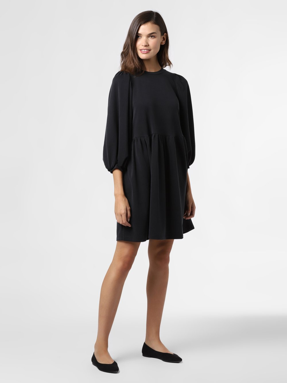 mbyM – Sukienka damska – Gabrielly, czarny Van Graaf 484587-0001-09930