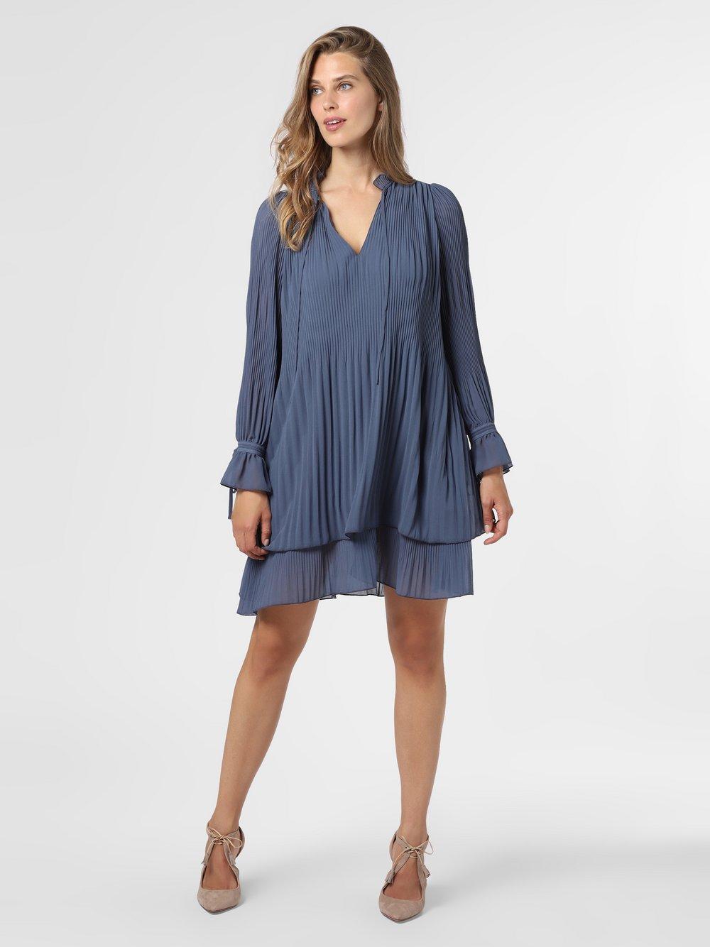 mbyM – Sukienka damska – Melinna, niebieski Van Graaf 484609-0001