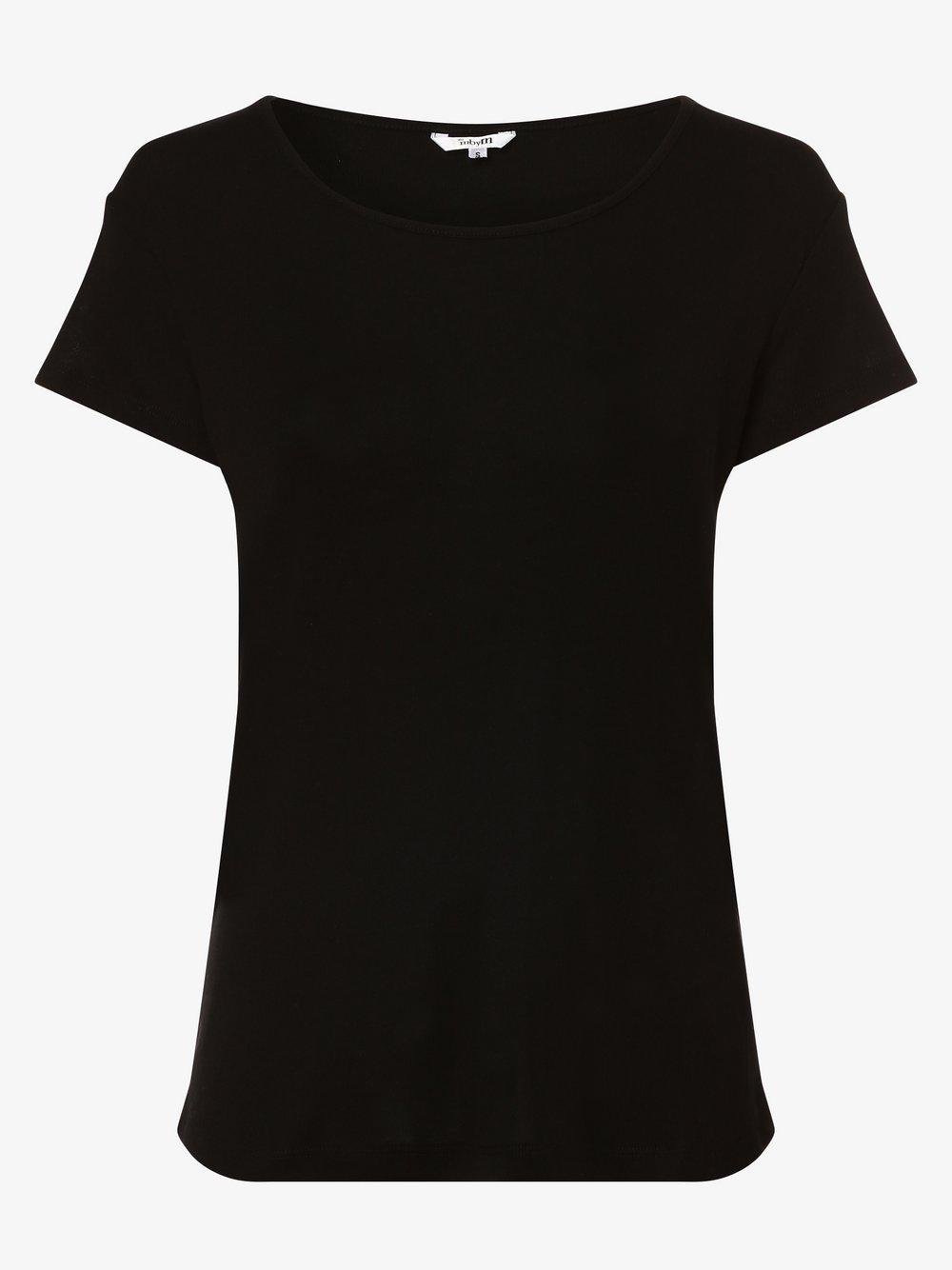 mbyM - T-shirt damski – Lucianna, czarny