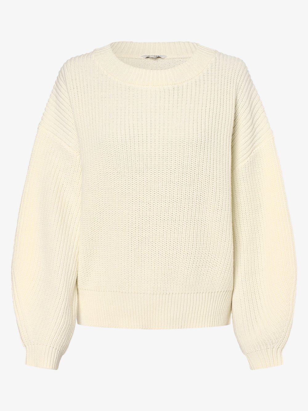 mbyM – Sweter damski – Venolia, beżowy Van Graaf 484623-0001