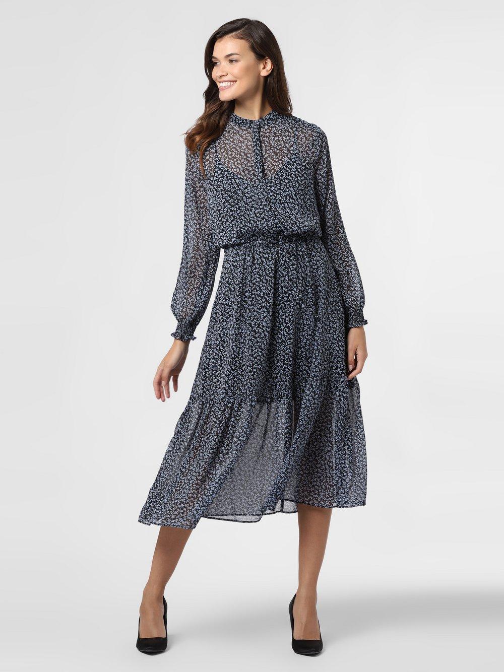 mbyM – Sukienka damska – Diaz, niebieski Van Graaf 484632-0001