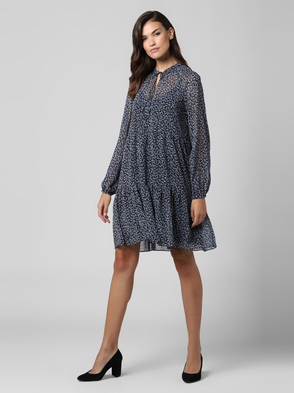 mbyM – Sukienka damska – Kenda, niebieski Van Graaf 484633-0001-09900