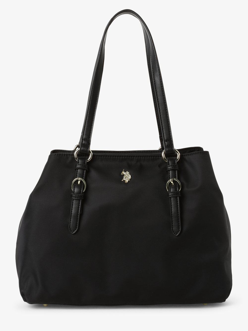 U.S. Polo Assn. – Damska torba shopper, czarny Van Graaf 485206-0002-00000