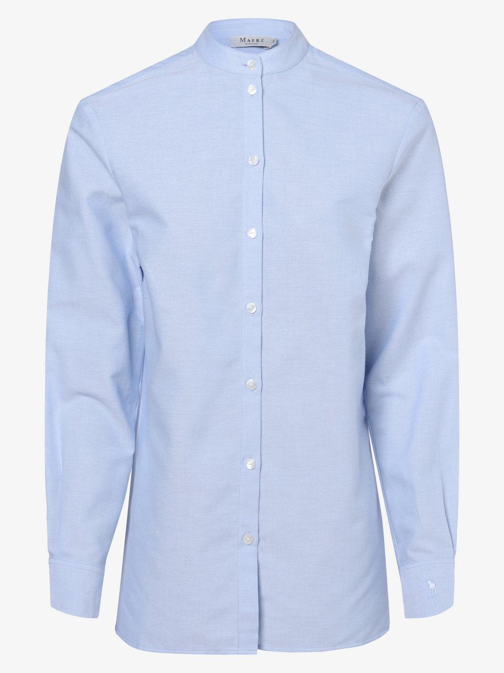 März – Bluzka damska, niebieski Van Graaf 485520-0003-00440