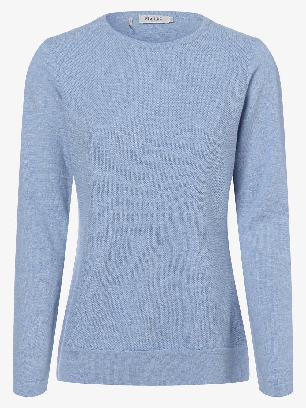 März - Sweter damski, niebieski