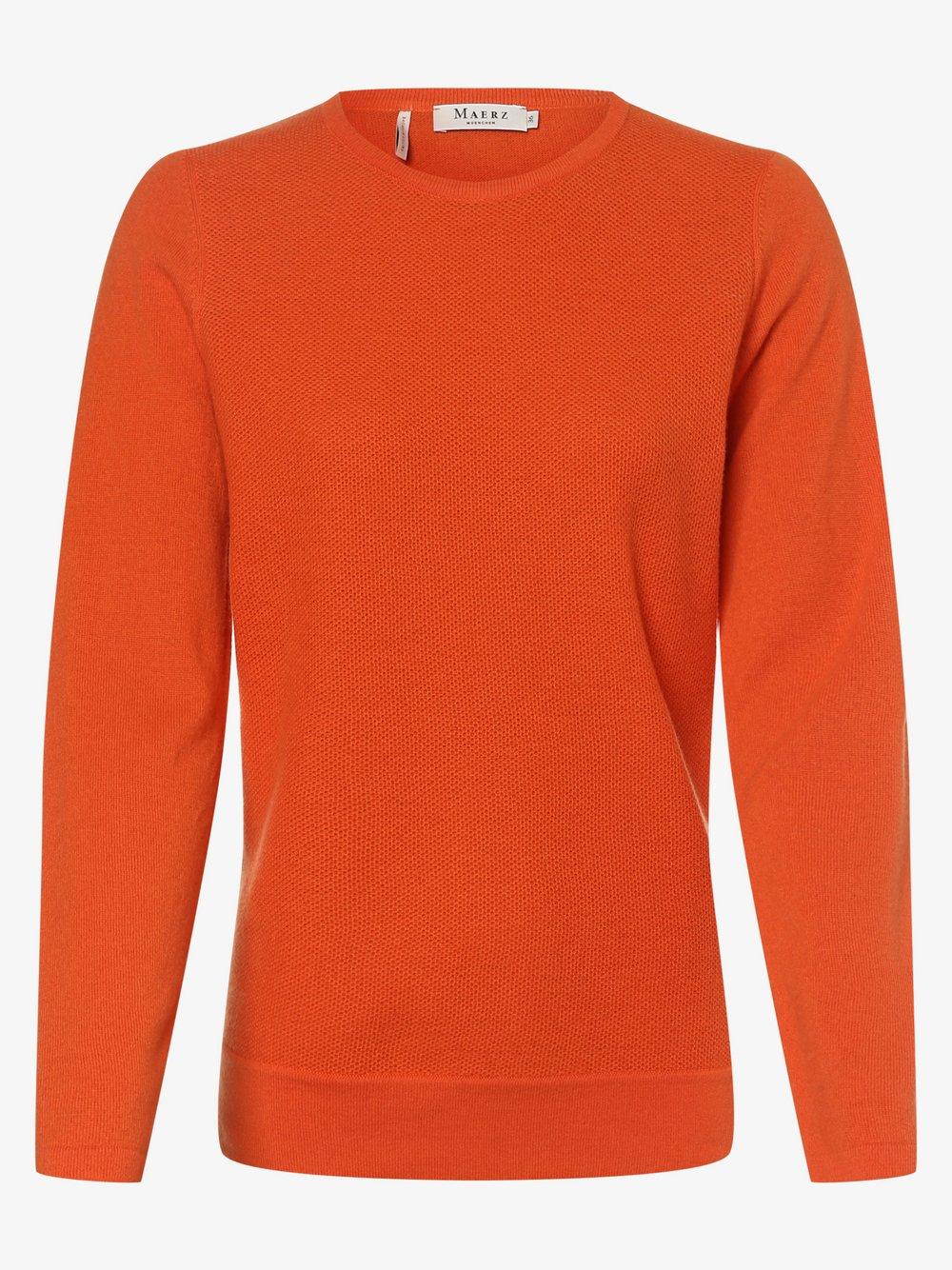 März - Sweter damski, pomarańczowy