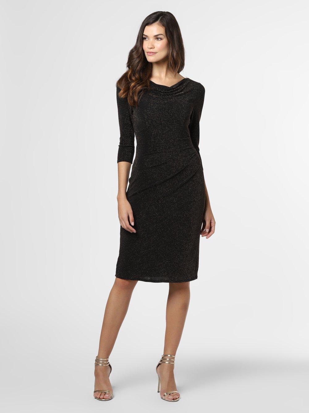 Ambiance – Sukienka damska, czarny Van Graaf 485795-0001-00440