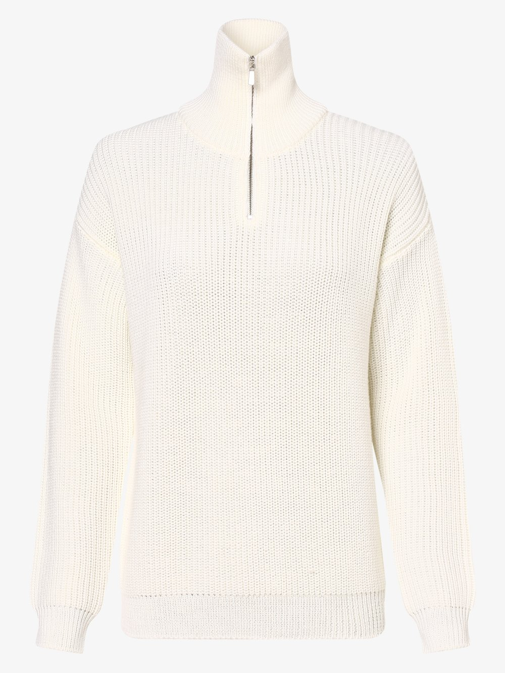 März – Sweter damski, biały Van Graaf 485983-0001-00440