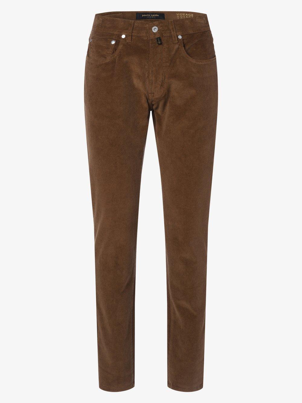 Pierre Cardin - Spodnie męskie – Lyon, beżowy