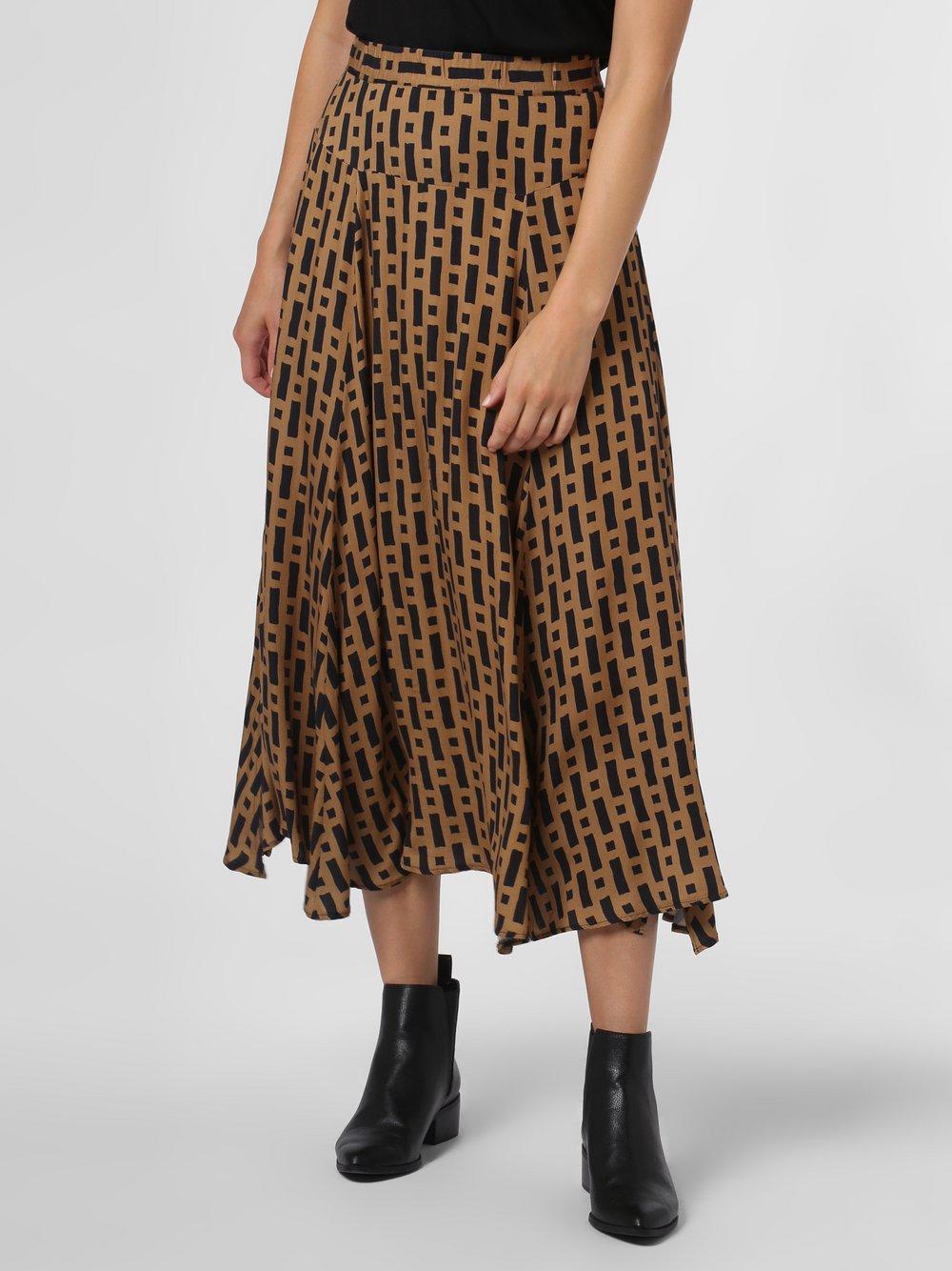 0039 Italy – Spódnica damska – Fili, beżowy Van Graaf 486057-0001-09920