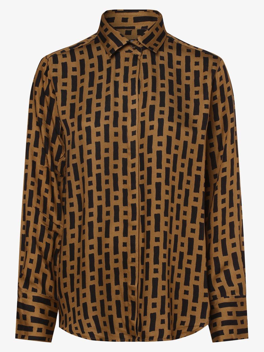 0039 Italy – Bluzka damska – Odetta, beżowy Van Graaf 486058-0001-09920