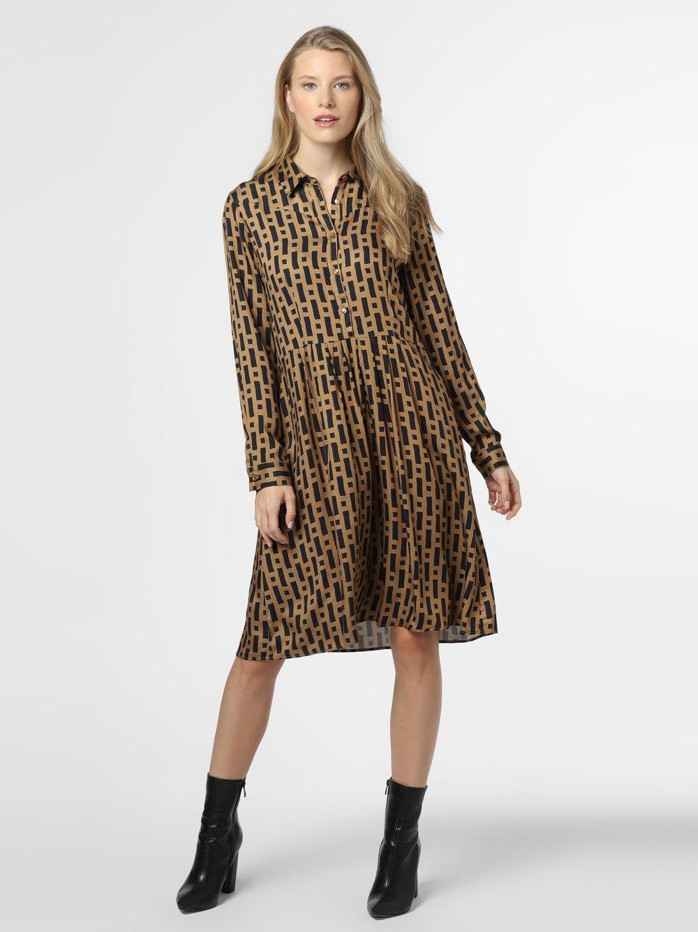 0039 Italy – Sukienka damska – Constanza New, beżowy Van Graaf 486059-0001