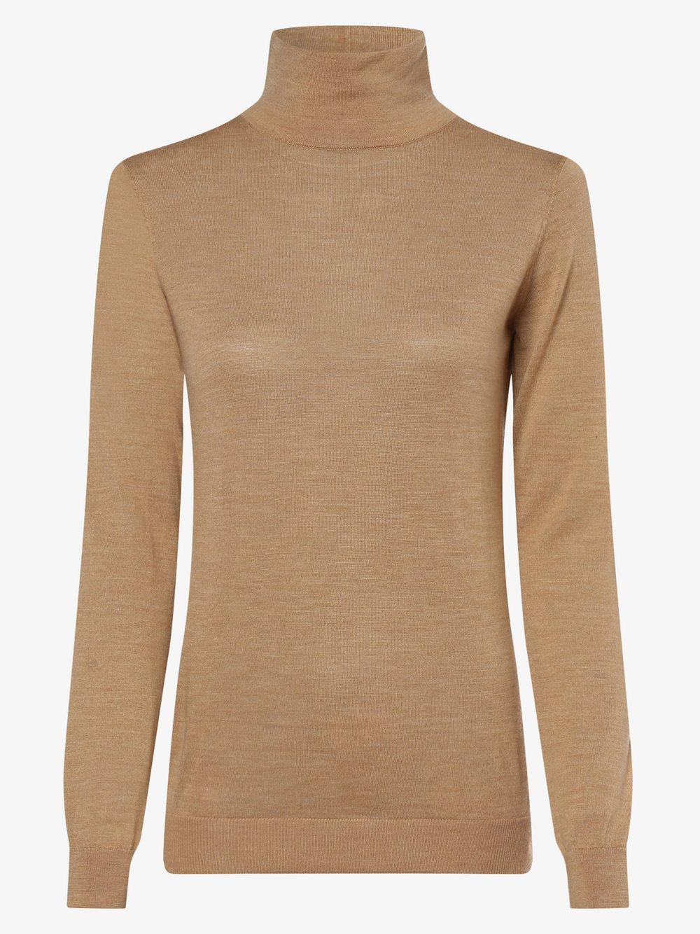 0039 Italy – Sweter damski – Whiley, beżowy Van Graaf 486066-0002-09920
