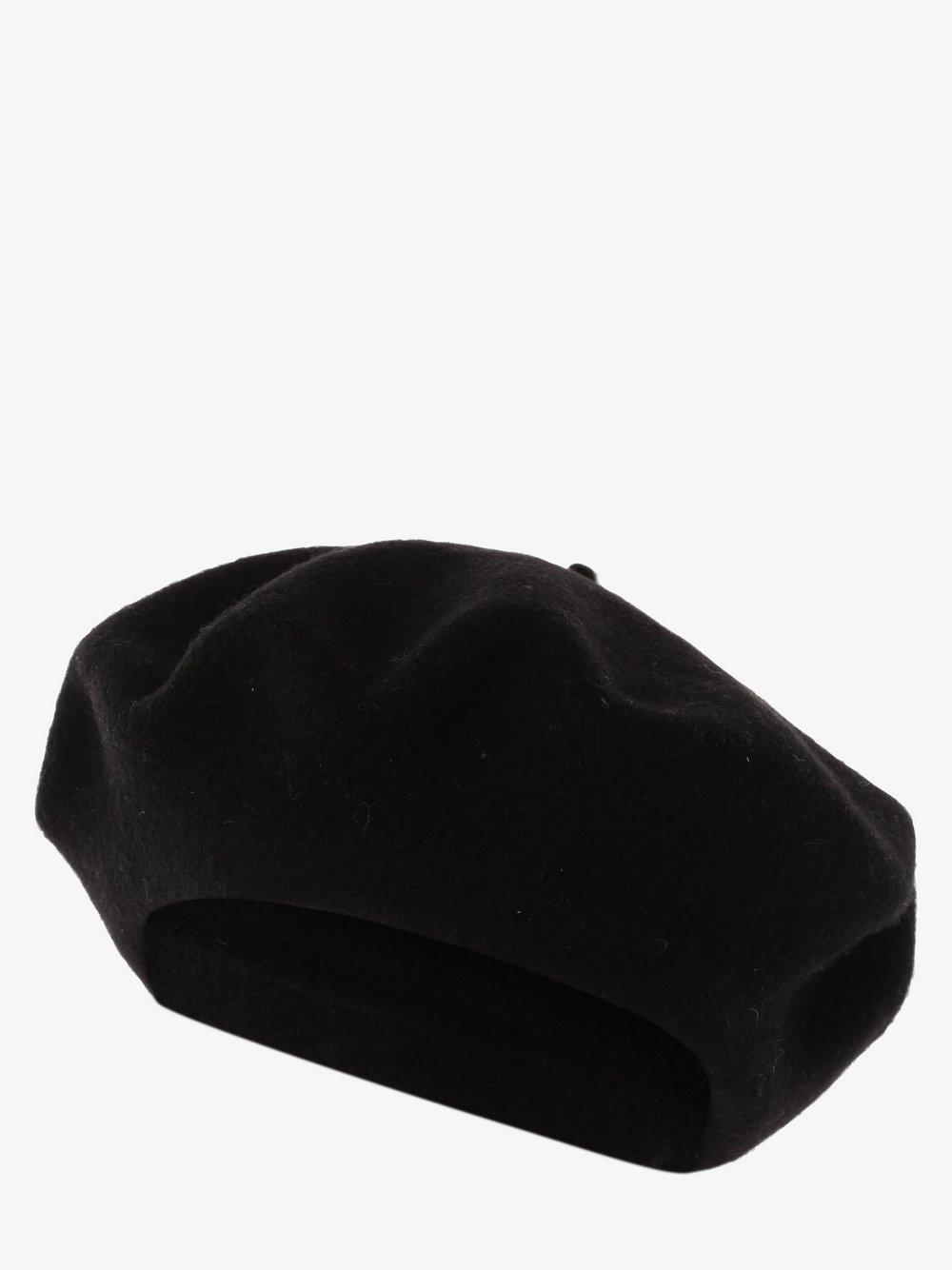 Loevenich - Czapka damska z wełny merino, czarny