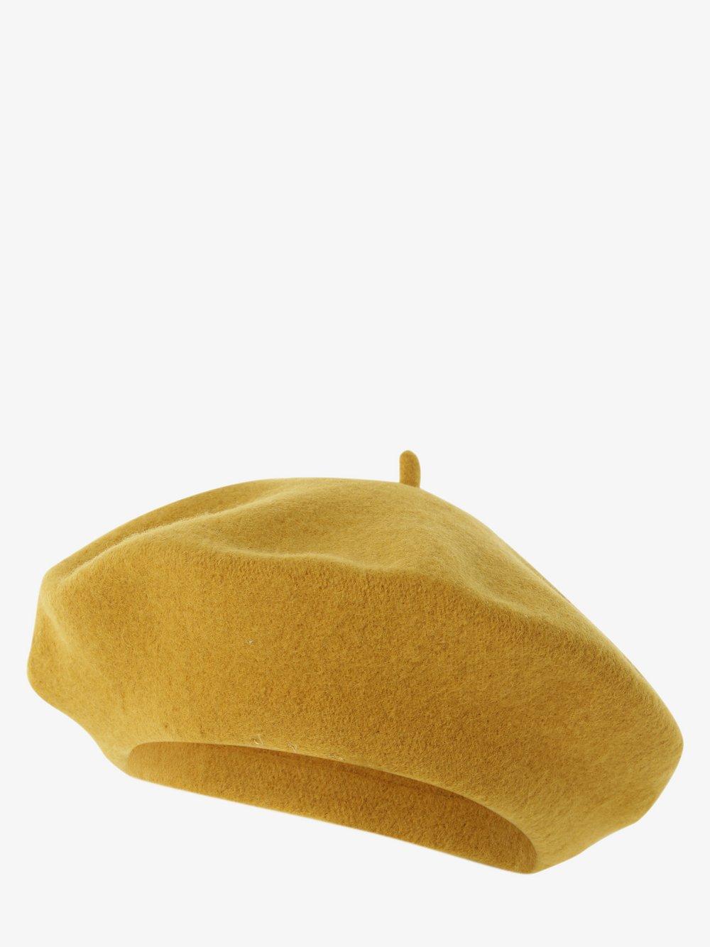 Loevenich – Czapka damska z wełny merino, żółty Van Graaf 486206-0008-00000