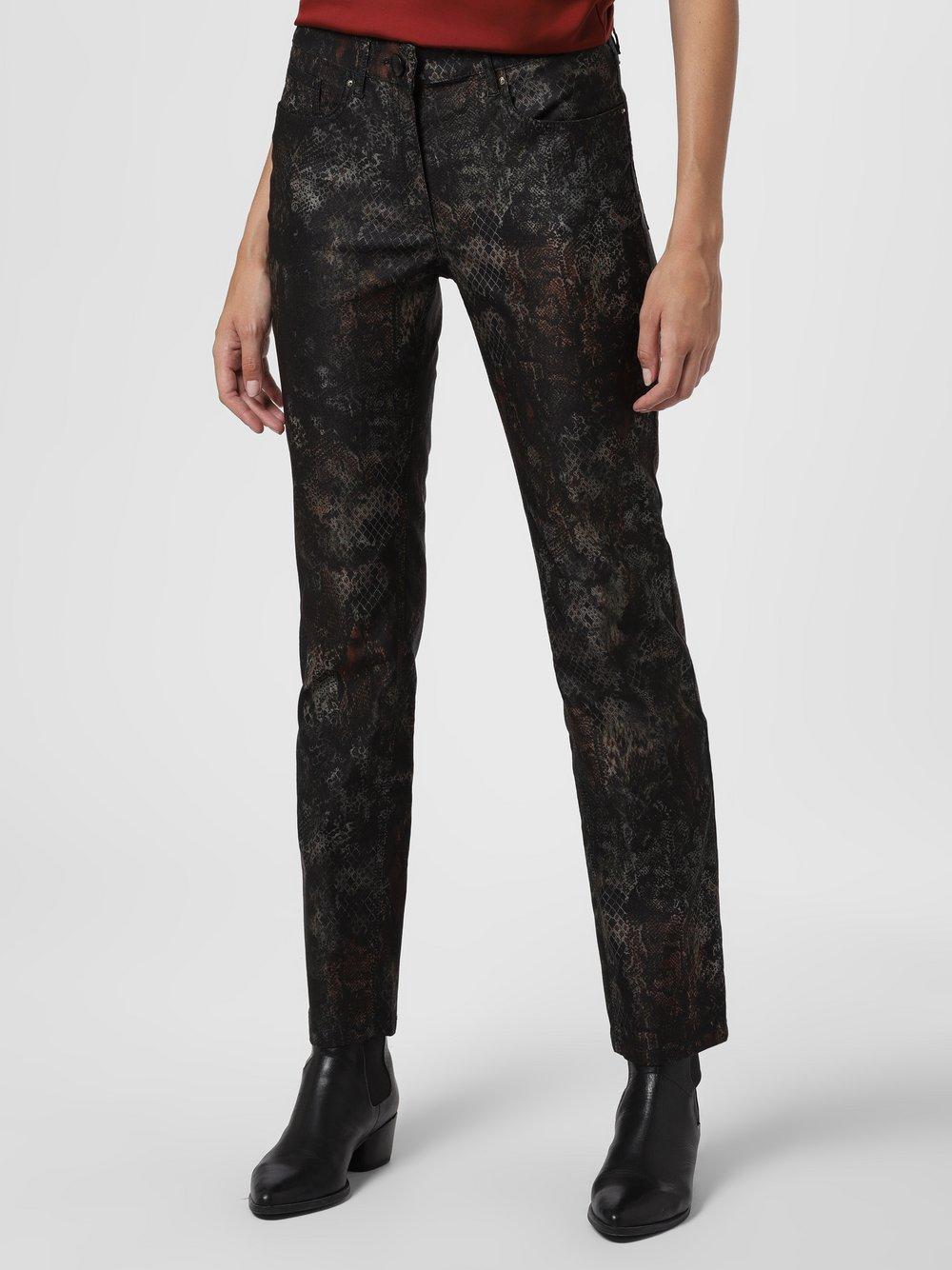 Zerres – Spodnie damskie – Cora, czarny Van Graaf 486239-0001-00360