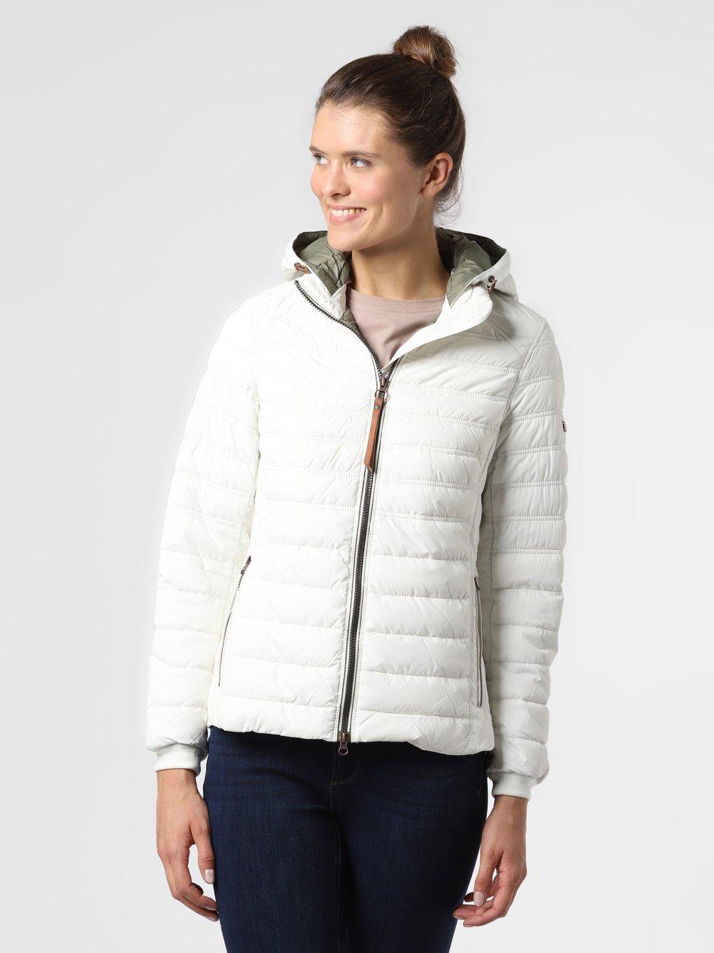 Camel Active – Damska kurtka pikowana, biały Van Graaf 486251-0001-00440
