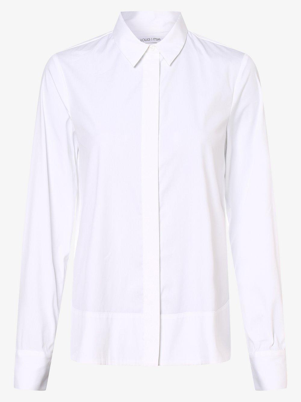 Louis & Mia – Bluzka damska, biały Van Graaf 486759-0001-00360