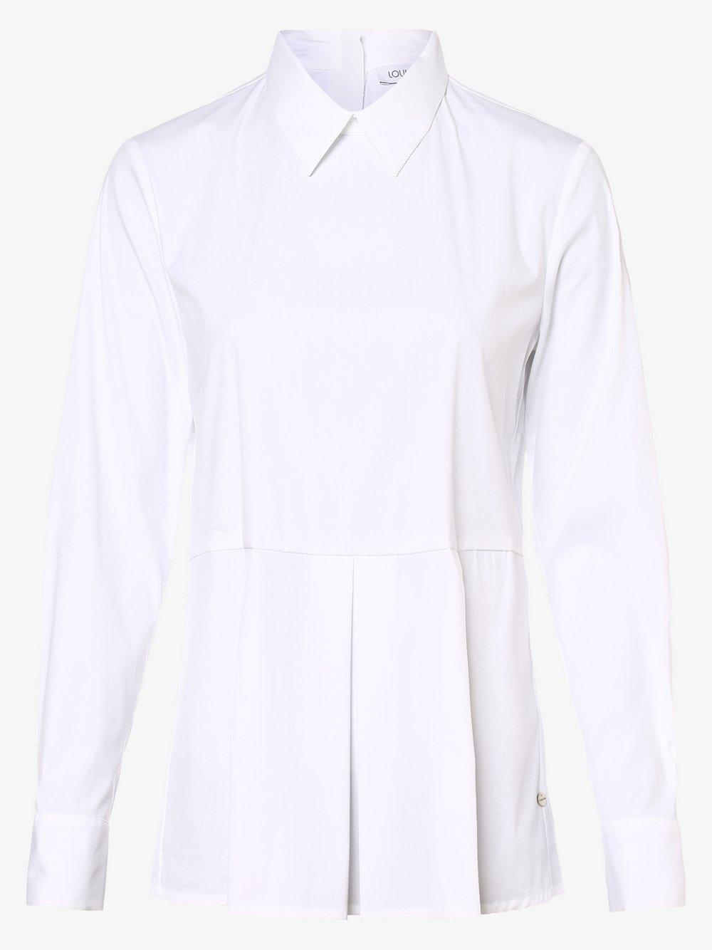 Louis & Mia – Bluzka damska, biały Van Graaf 486761-0001-00400