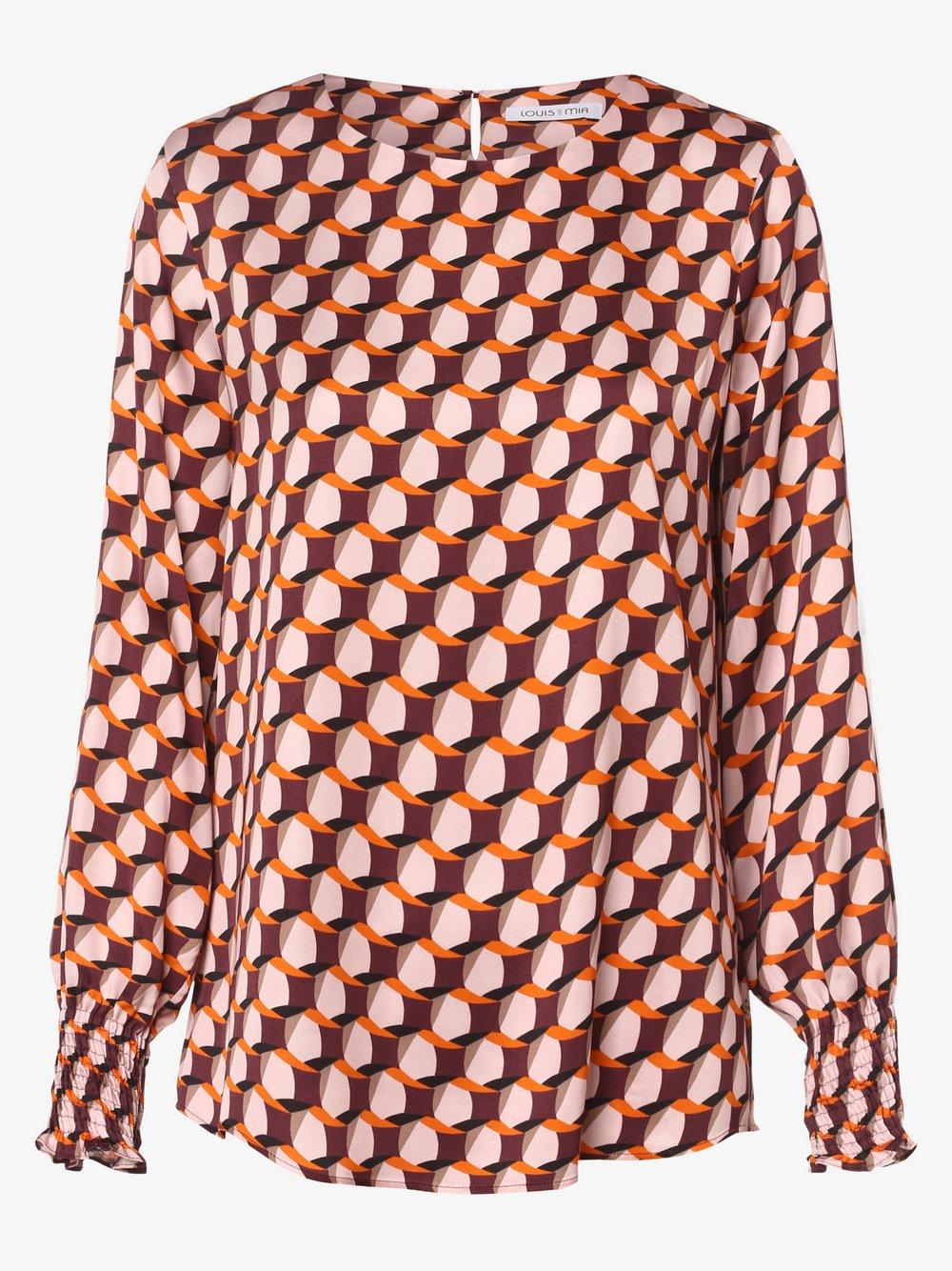 Louis & Mia – Bluzka damska, różowy Van Graaf 486763-0001