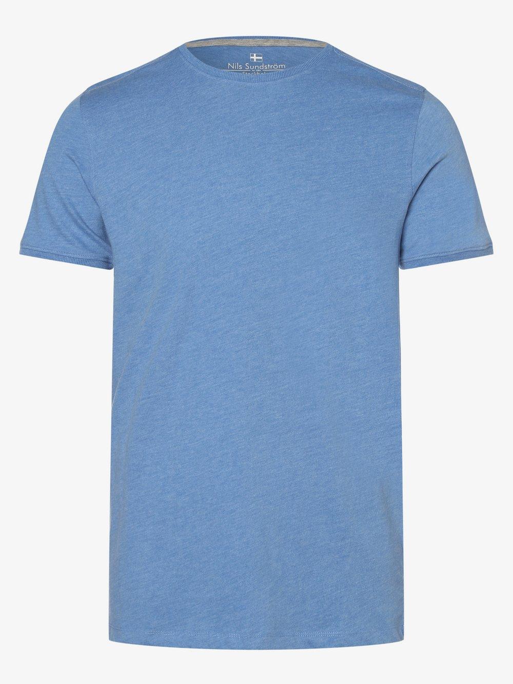 Nils Sundström - T-shirt męski, niebieski