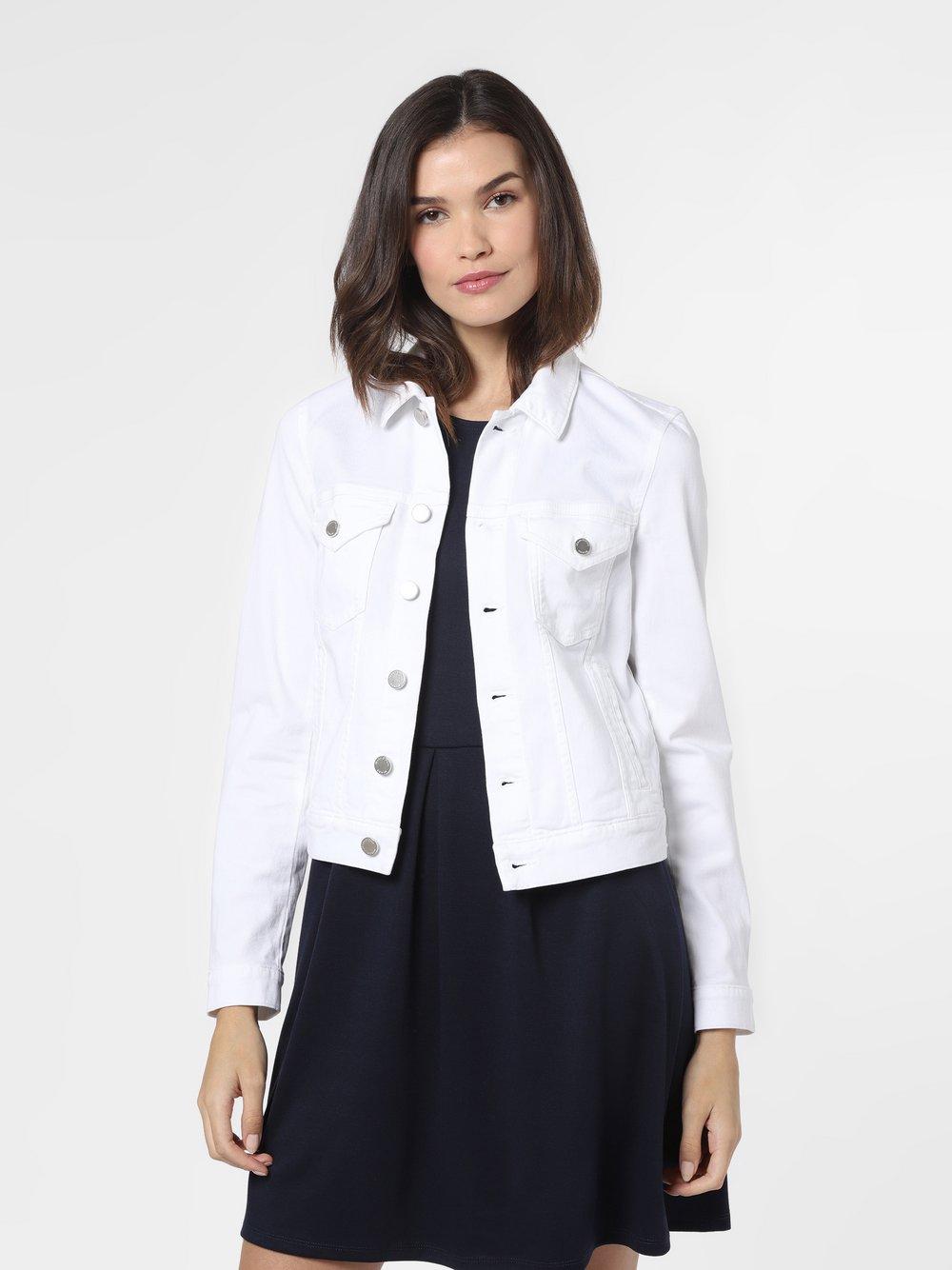 Marc O'Polo Denim – Damska kurtka jeansowa, biały Van Graaf 486985-0001-09940