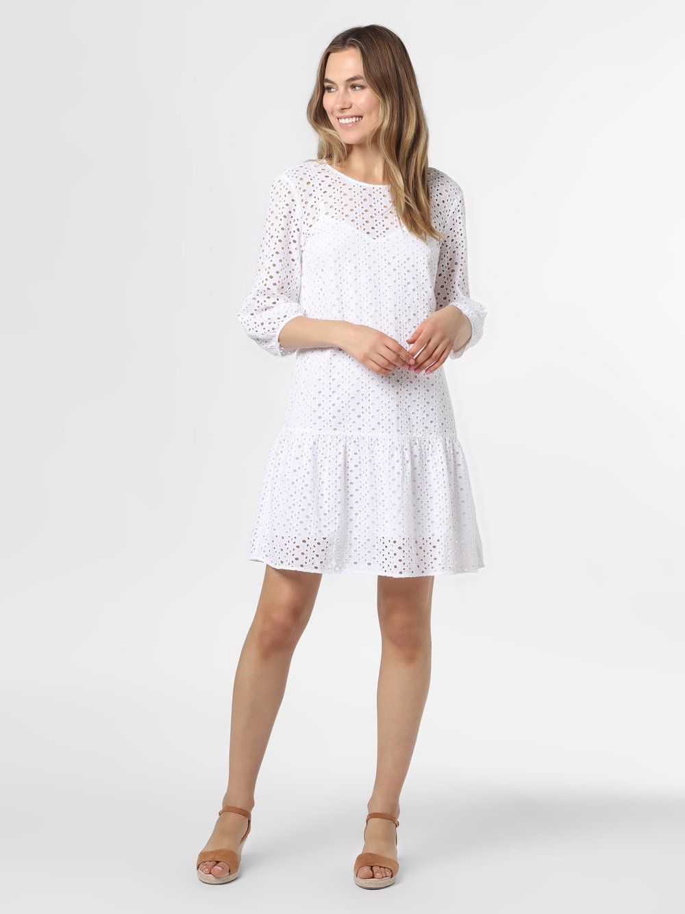 Marc O'Polo Denim – Sukienka damska, biały Van Graaf 486991-0001-09940
