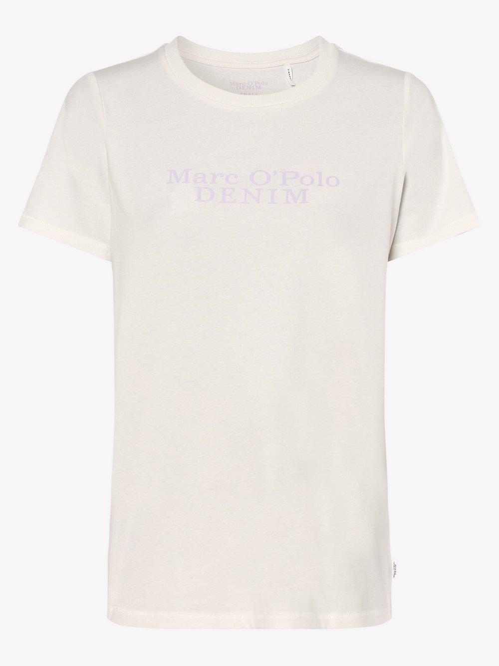 Marc O'Polo Denim – T-shirt damski, biały Van Graaf 487000-0002-09920