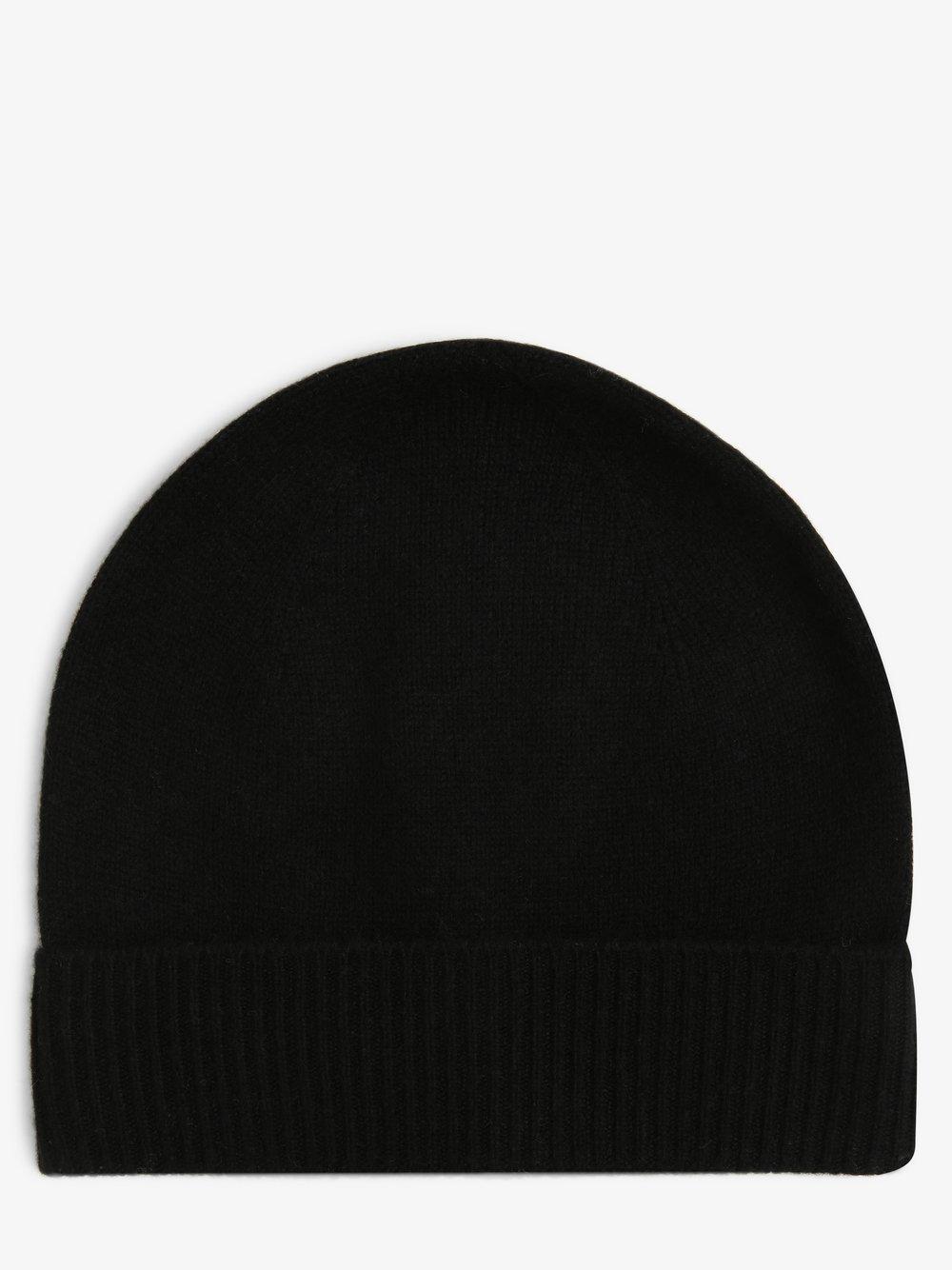 Apriori - Damska czapka z czystego kaszmiru, czarny