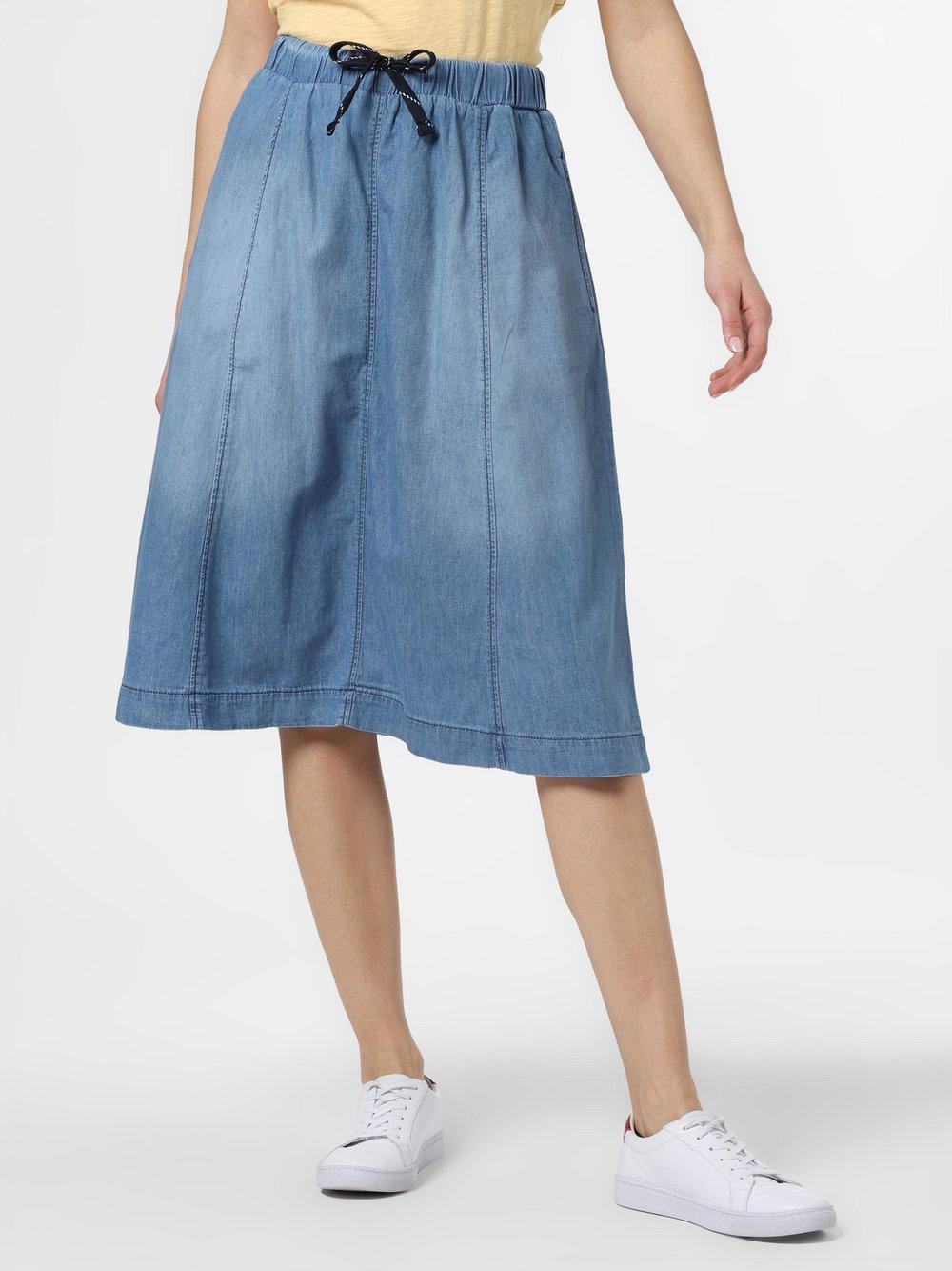 Cartoon UPgreat! – Jeansowa spódnica damska, niebieski Van Graaf 487176-0001