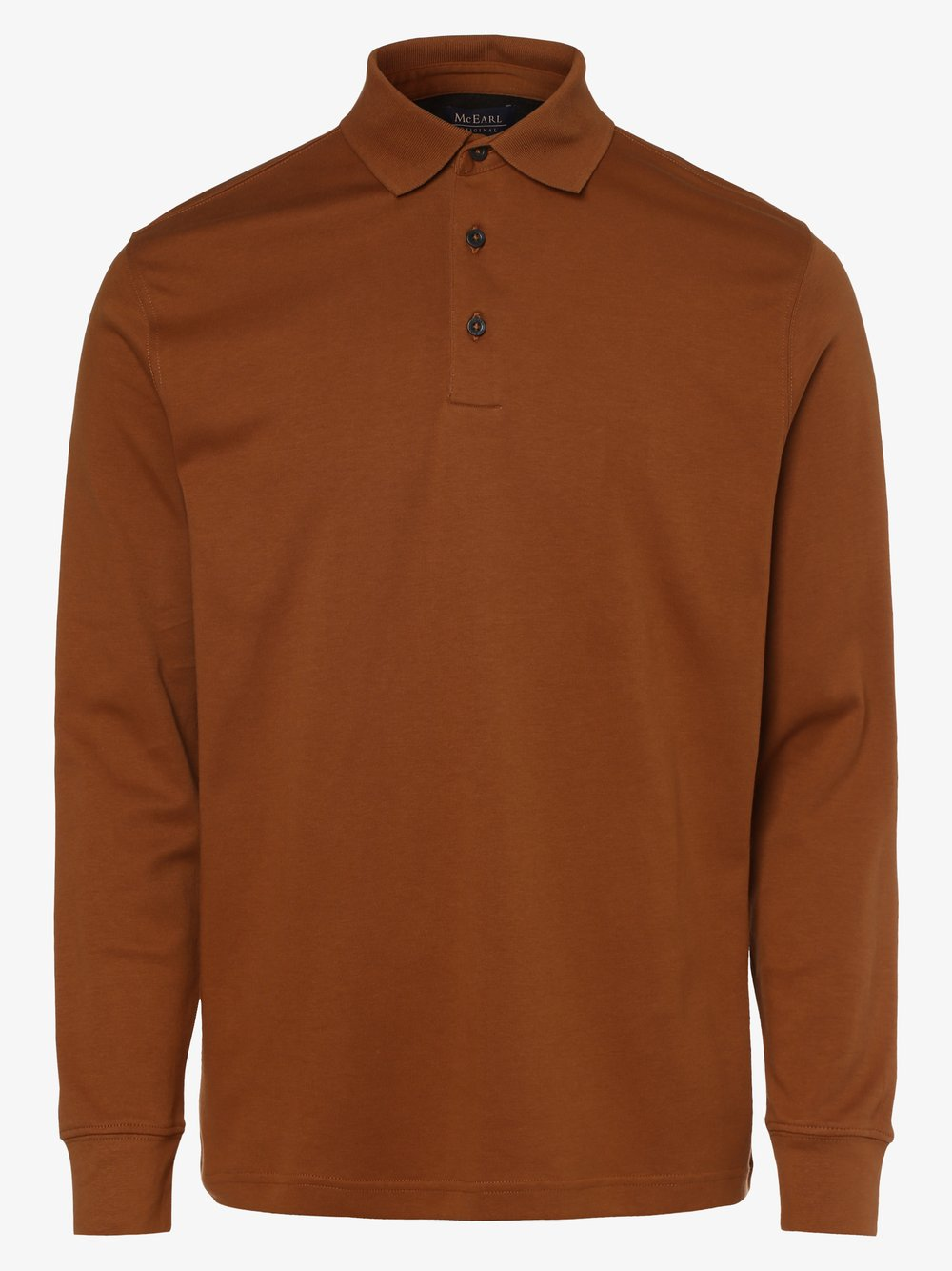 Mc Earl – Męska koszulka polo, beżowy Van Graaf 487229-0006-09920