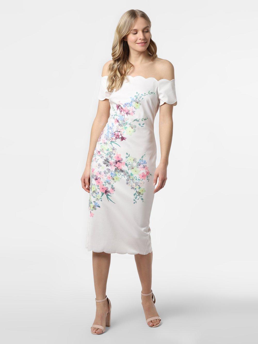 Ted Baker – Sukienka damska – Trixiiy, beżowy Van Graaf 488037-0001-00360