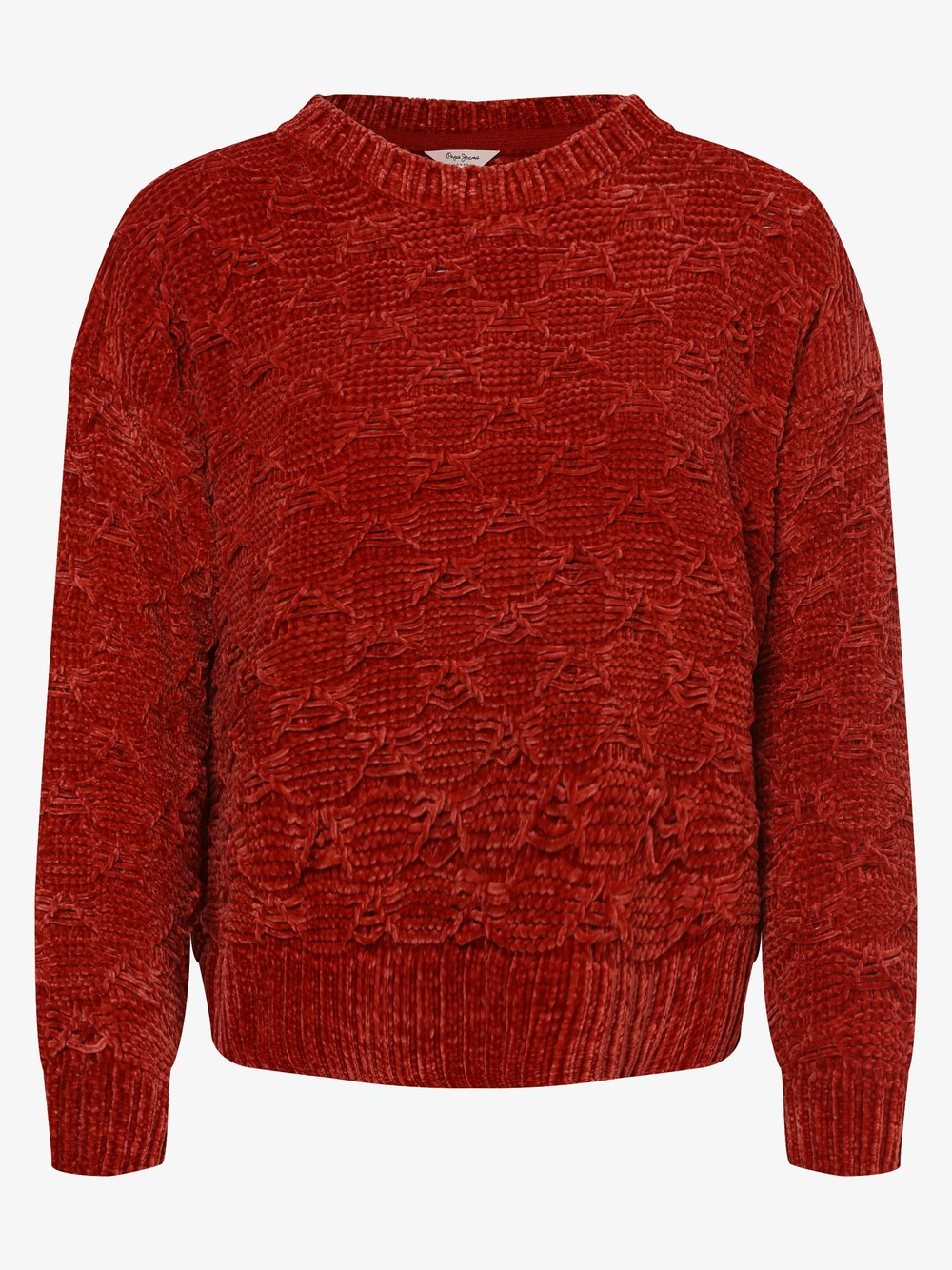 Pepe Jeans - Sweter damski – Lala, czerwony