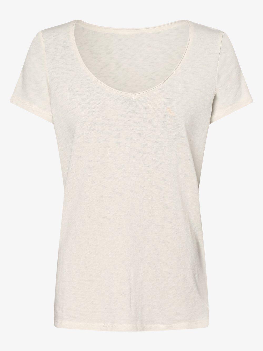 Marc O'Polo Denim – T-shirt damski, beżowy Van Graaf 488442-0002-09960