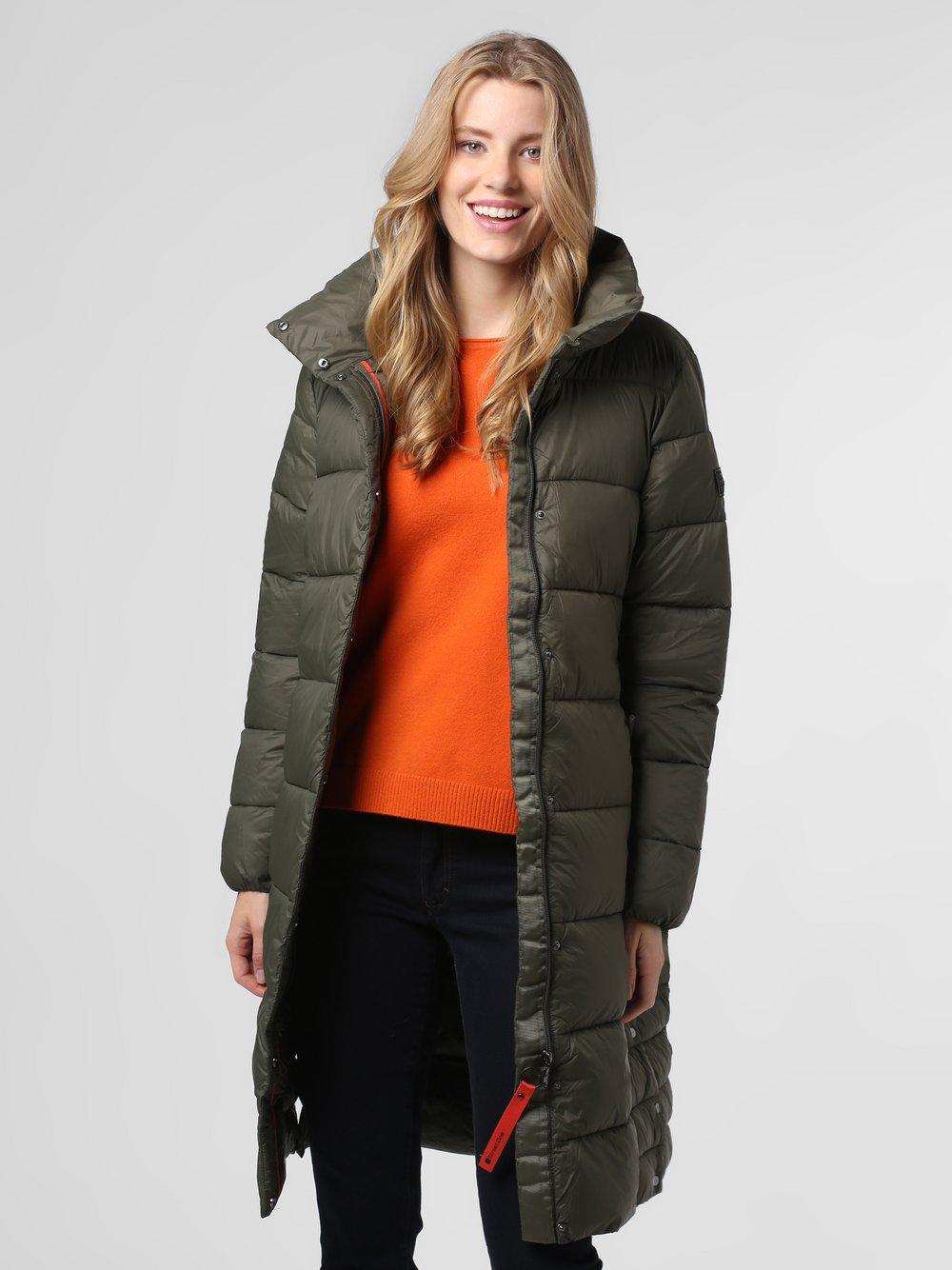 Street One – Damski płaszcz pikowany, zielony Van Graaf 488663-0001-00440