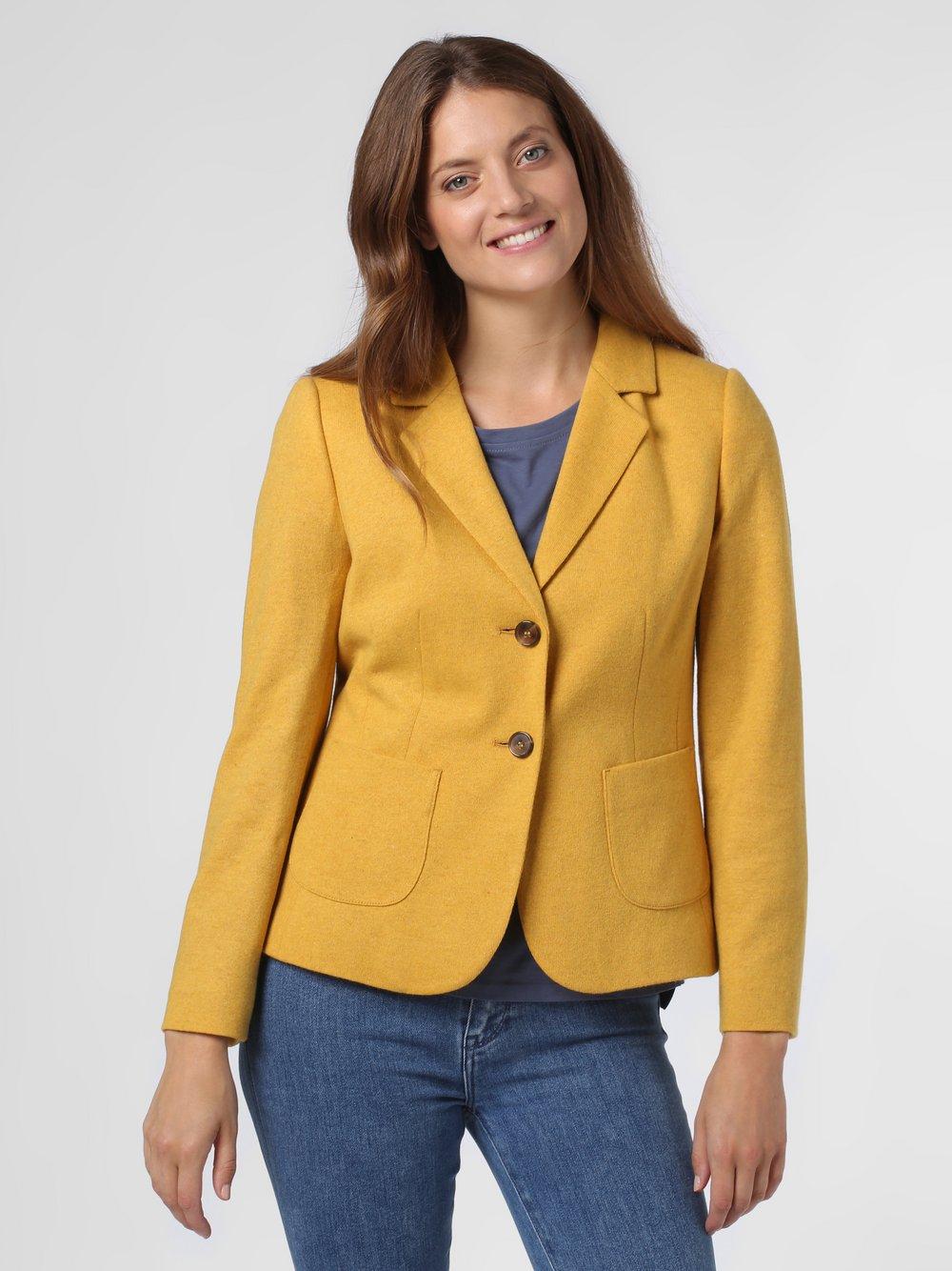 Betty Barclay – Blezer damski, żółty Van Graaf 488866-0001