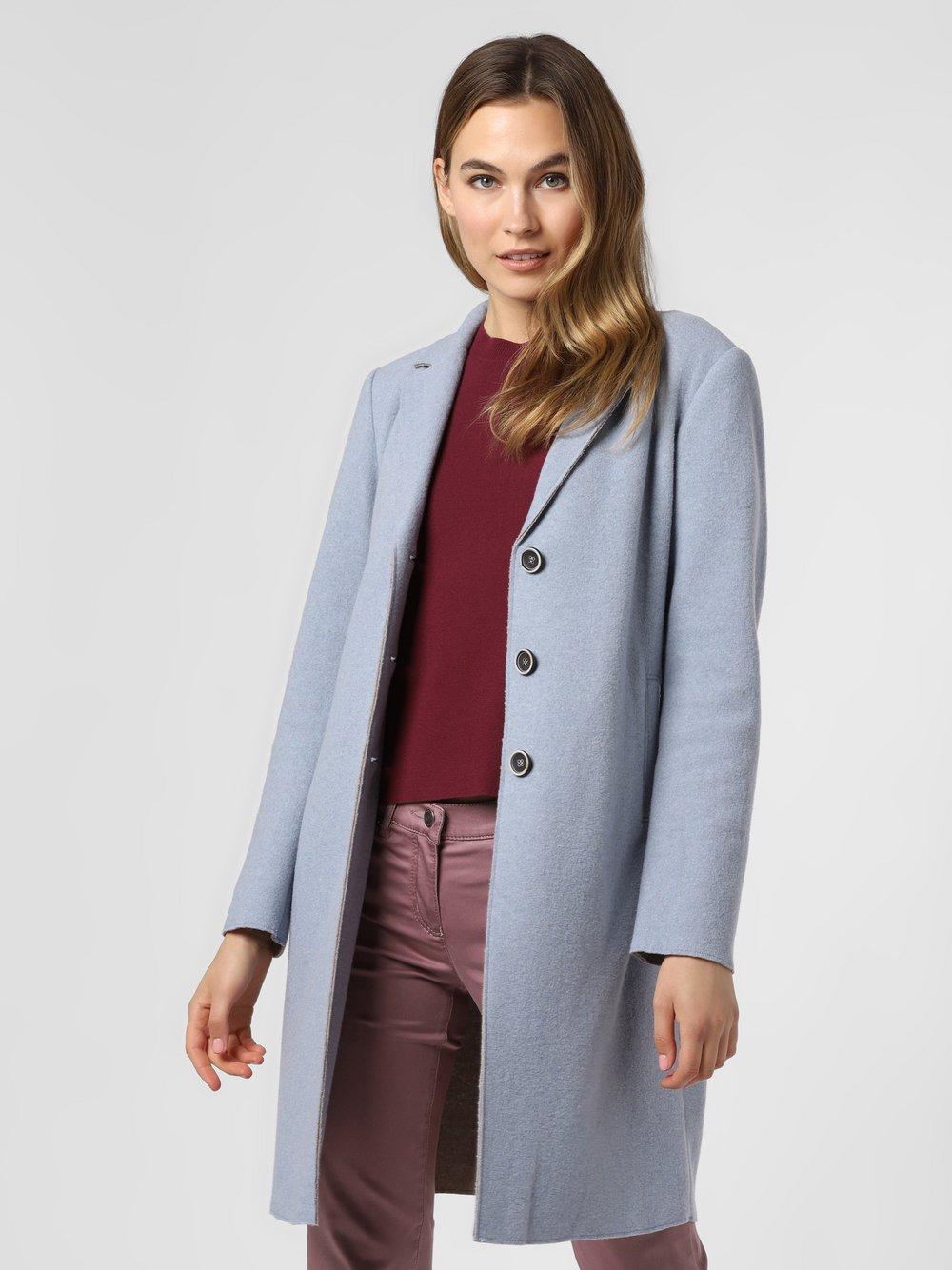 Rofa – Płaszcz damski, niebieski Van Graaf 488916-0001-00360