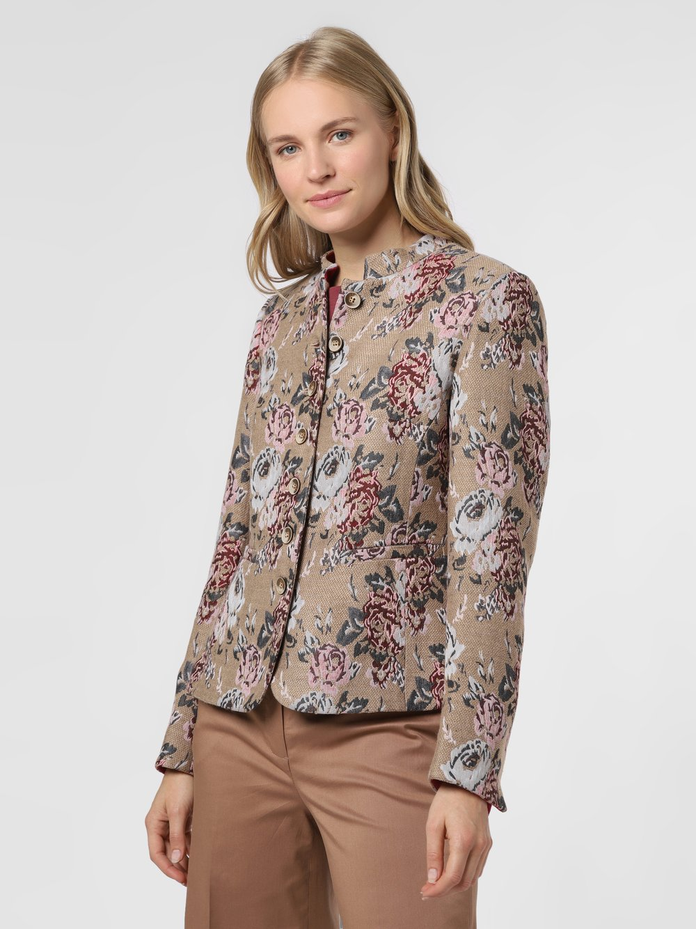 Rofa – Blezer damski, różowy Van Graaf 488917-0001-00480