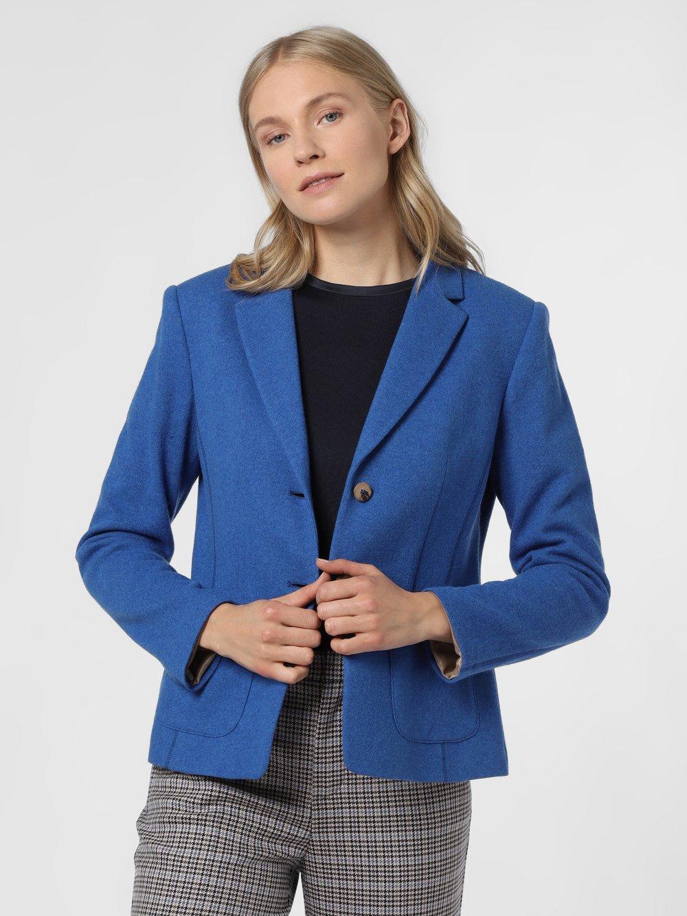 Rofa – Blezer damski, niebieski Van Graaf 488918-0003-00440