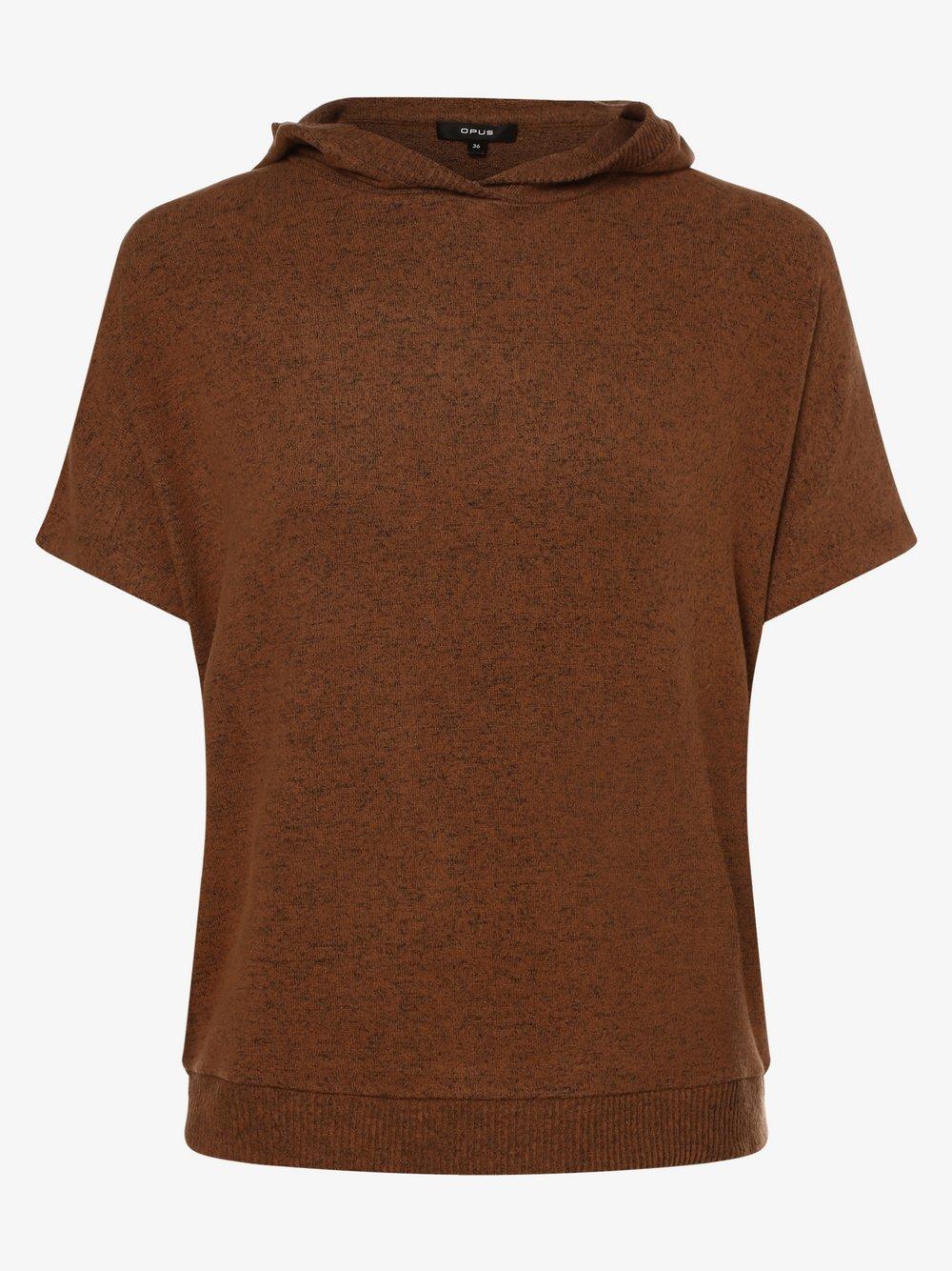 Opus - Koszulka damska – Gubine, beżowy